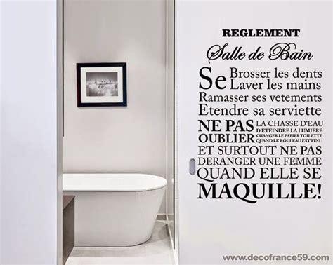 les 25 meilleurs citations murales salle de bains sur mural salle de bains