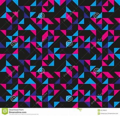 Pattern Geometric Retro Patterns 80s 90s Background