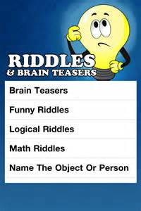 Funny Brain Teasers Riddles with Answers