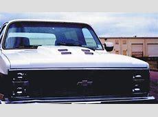 8187 ChevyGMC Truck, 8191 Suburban wRam Air Steel Cowl