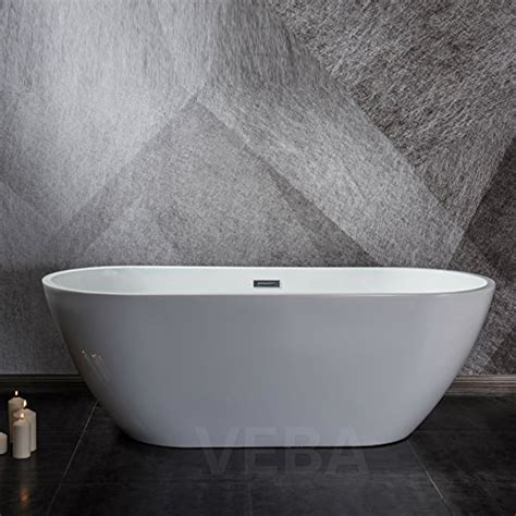57 Inch Freestanding Tub by Veba 55 Inch Freestanding Tub Small Free Standing Acrylic