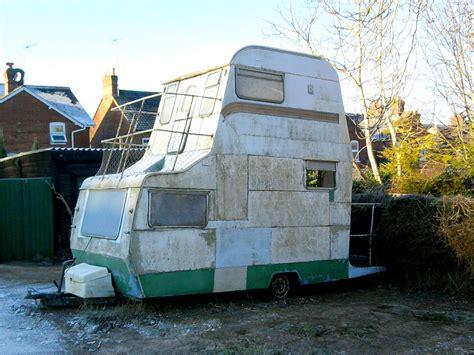Used Staircase For Sale by Doubledeck Caravan Custom Made Caravan Seen In Andover