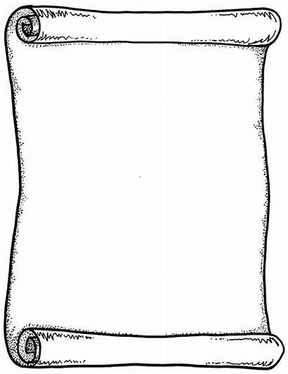 Scroll Clip Template Clipart Clipartion Google Coloring