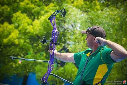 Follow Through Archery Shot Every Behind Point