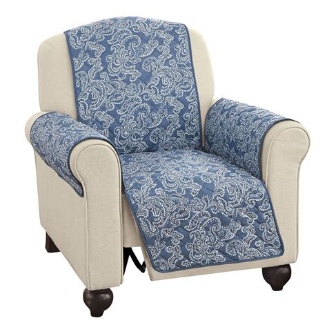 collections etc paisley reversible furniture protector