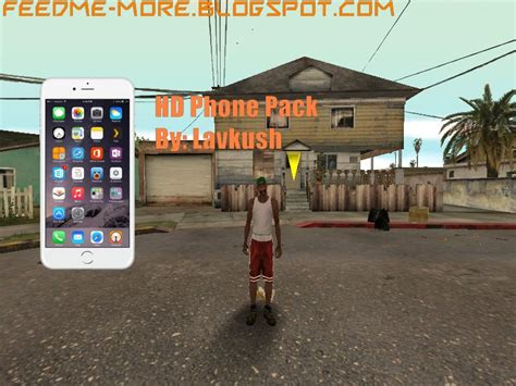 Gta San Andreas Hd Phone Pack For Gta V Hud Mod