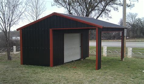 Enclosed Car Ports by American Steel Carport A Frame Vertical Partial