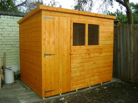 ebay garden shed 8ft x 6ft top quality tongue grove pent garden shed ebay