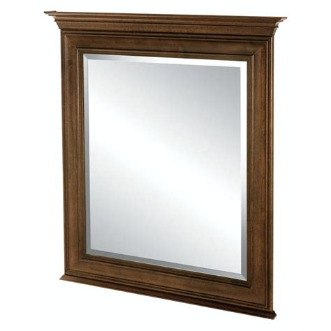 Home Depot Vanity Mirrors by Home Decorators Collection Templin 30 In X 34 In Framed