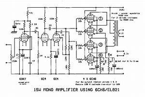 6ch6 tube valve amplifier circuit diagram With circuit diagram 15w el84 power amp and a transformer power supply schematic