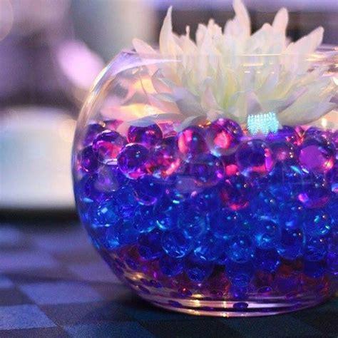 fishbowl centerpiece idea fishbowl wedding centerpieces