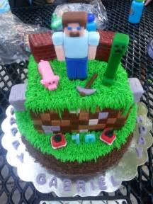 Really Cool Minecraft Cake