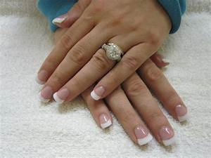 white tips nails | Nails | tomuch.us
