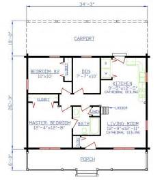 two bedroom two bath house plans plan 154 00005 2 bedroom 1 bath log home plan