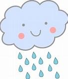 Image result for Rain Cartoon