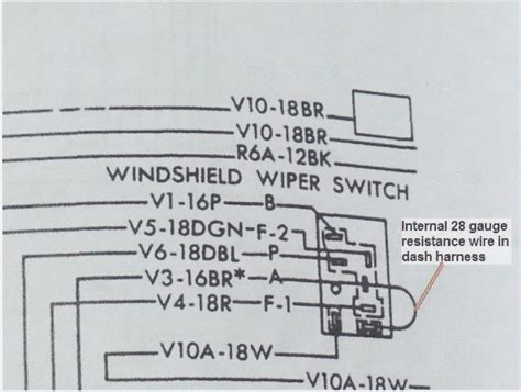 wiper wiring moparts restoration a12 forum forums get
