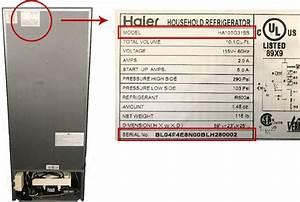 Haier Recalls Top Freezer Unit Refrigerators