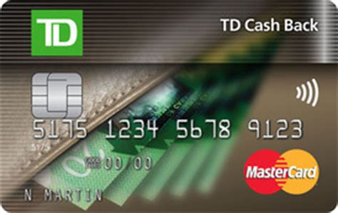 Just consider that mail payments should be sent at least 7 days before your due date. TD Cash Back MasterCard Credit Card   TD Canada Trust