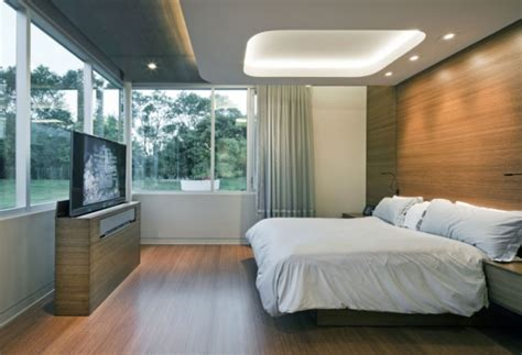 Modern House With Touch Of Pop In Alsace by 92 Id 233 Es Chambre 224 Coucher Moderne Avec Une Touche Design