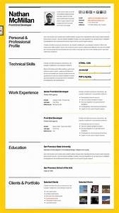 10 beautiful resume html templates With ideal resume layout