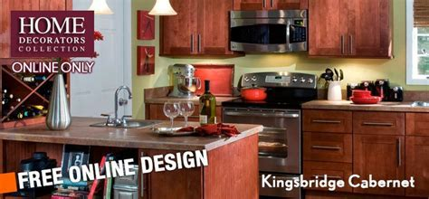 Home Decorators Online Cabinetry   Kingsbridge Cabernet