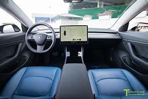 Tesla Model 3 Matte Carbon Fiber Interior Trim Upgrade (Steering Wheel - T Sportline - Tesla ...