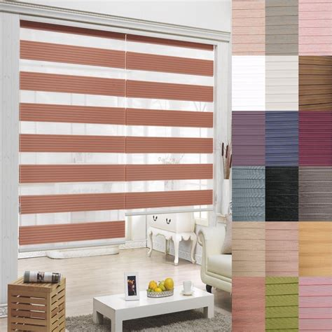 Windows And Blinds by Details About B C T Zebra Shade Home Window Blind Customer