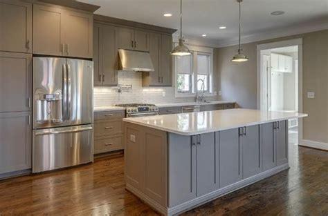 white kitchen cabinets gray granite countertops medium gray cabinets with white countertop and floor 2057