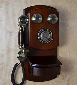 Telephone Mural Vintage : antique wall phone replica best 2000 antique decor ideas ~ Teatrodelosmanantiales.com Idées de Décoration