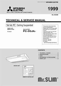 Mitsubishi Electric Mr Slim Service Manual