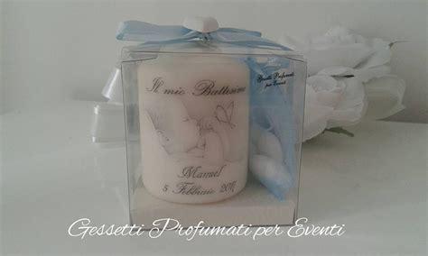 candela bomboniera bomboniera candela personalizzata battesimo feste