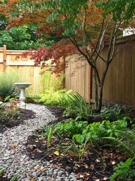 shady cottage garden modern cottage shade garden with native plants and stone patio