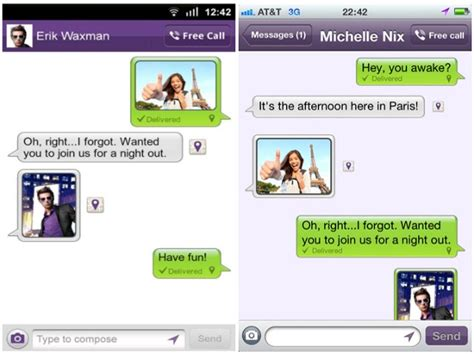 viber for android viber for android and iphone gets new voice engine photo