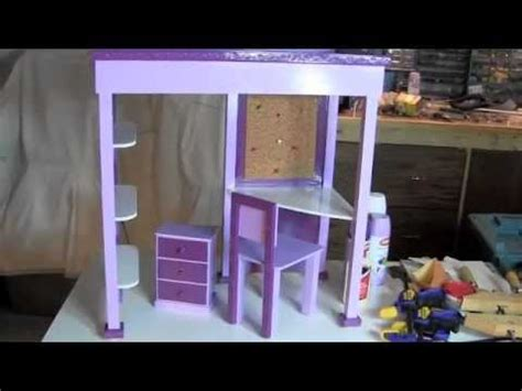 25190 diy american doll bed how to make mckenna s loft bed