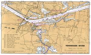 Tennessee River Navigation Chart Maps
