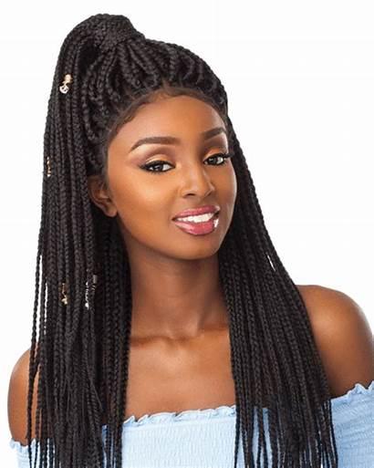 Lace Wig Braid Box Wigs Sensationnel Multi