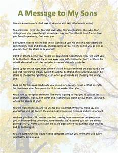 a message to my son kids stuff pinterest sons With letter from son to mother on wedding day