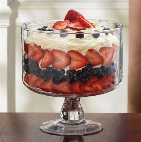 trifle bowl recipe glass trifle serving bowl kitchen essentials pinterest bowls yum yum and yummy food