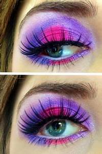 Bright makeup Makeup and Neon on Pinterest