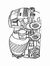 Betonmischer Malvorlagen sketch template