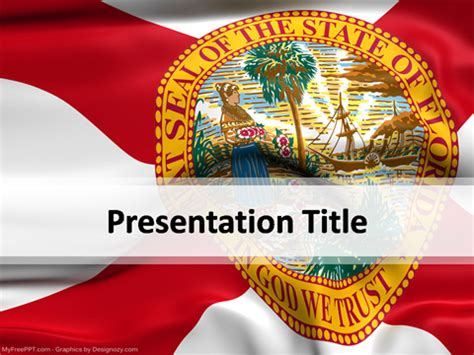 florida powerpoint template   powerpoint