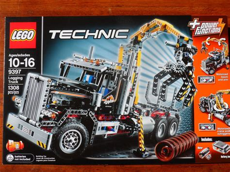 technic sets brand new and factory sealed technic set 9397 logging
