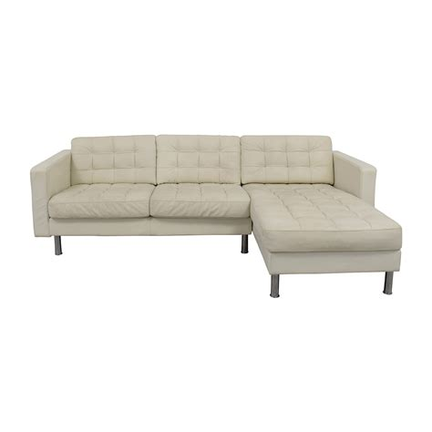 Sofa Ikea Leder by 69 Ikea Ikea Landskrona Leather Sectional Sofas