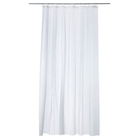 innaren shower curtain white 180x180 cm ikea