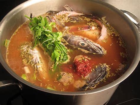 bouquet garni en cuisine soupe de poissons la recette illustrée meilleurduchef com