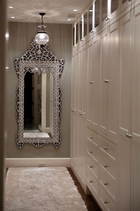 venetian floor mirror transitional closet kruger