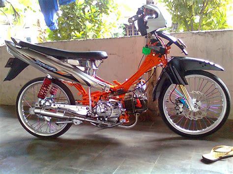Modif Jupiter Z Drag by Modifikasi Jupiter Z Drag Race Thecitycyclist