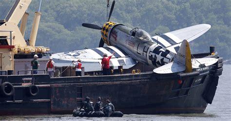 Vintage Plane Fished Out Of Hudson After Fatal Crash