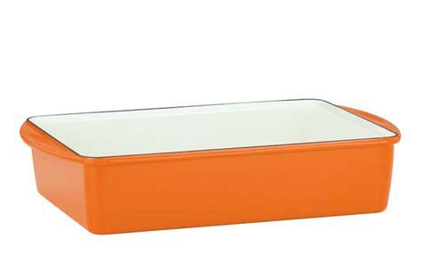 mario batali enameled cast iron deep lasagna pan xx persimmon cutlery