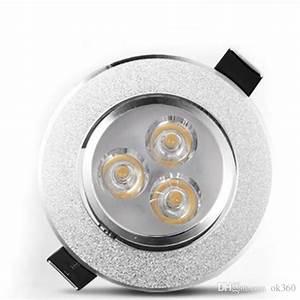 W led downlight ceiling lights flood spot light ac v
